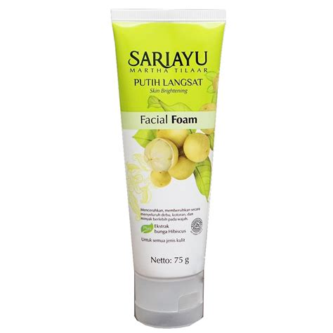 Sariayu Foam Acne review journal by sociolla