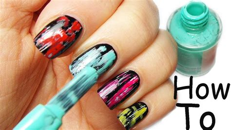 tutorial nail art giornale nail art tutorial facile veloce coloratissima youtube