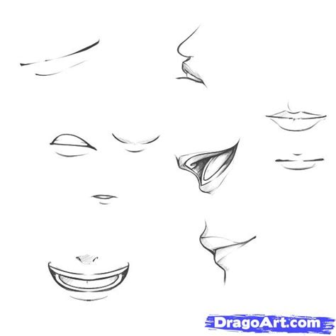 how to draw mouths draw mouths step by step drawing sheets added by