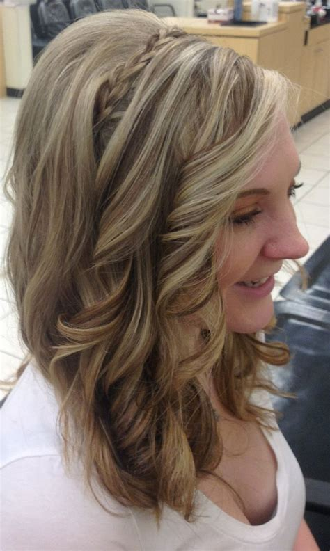 hair foil color ideas blond and brown foil curls hair by sarah stevens