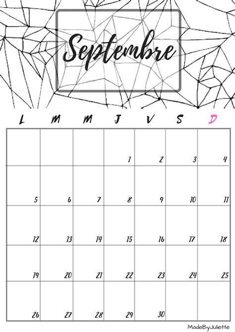 Calendrier Octobre Et Novembre 2017 Calendrier Septembre 2016 Imprimes Le Calendrier Pour