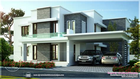 3600 sq ft contemporary villa exterior elevation home