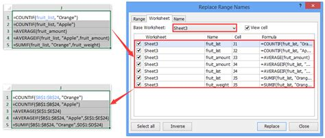 find name pattern exle how to quickly delete all named ranges in excel