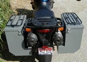 Suzuki V Strom Saddlebags Happy Trail Panniers For Suzuki V Strom 1000 Motorcycle