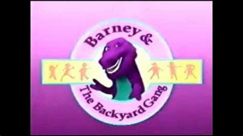 barney and the backyard gang vhs barney and the backyard gang rock with barney part 17 vhs gogo papa