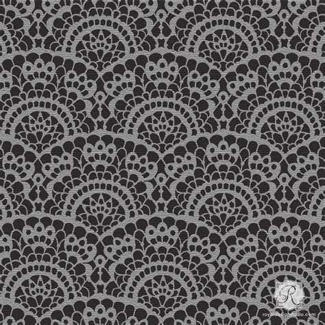 Lace Pattern In Spanish | spanish lace furniture craft stencil diy halloween party