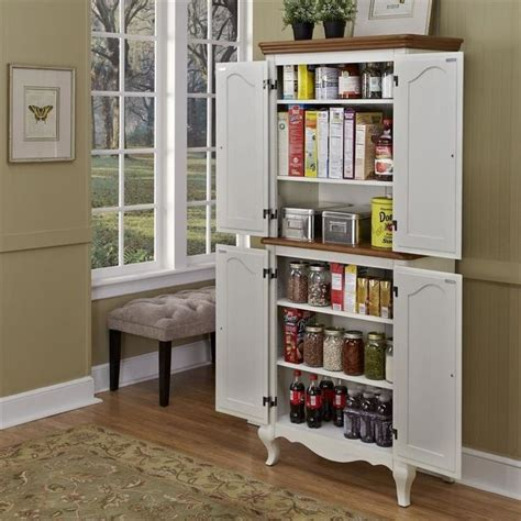 stand  oak  rubbed white pantry pantry decor
