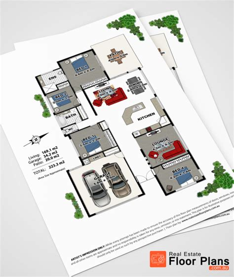 Floor Plans For Real Estate Marketing