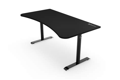 arena gaming desk black arozzi