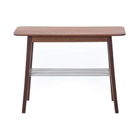 modern end table with shelves danish modern side tables with metal shelf for sale at 1stdibs