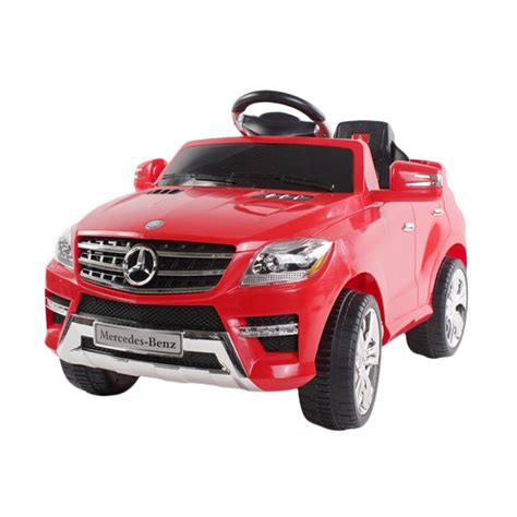 Mobil Aki Mercedes jual tomindo mobil aki mercedes ml350 merah mainan