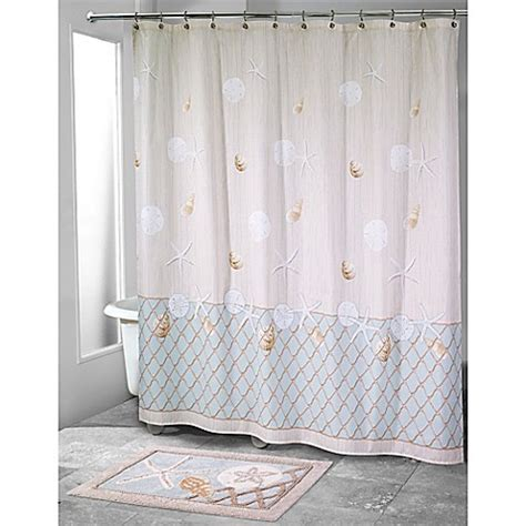 bed bath and beyond shower curtain avanti sea glass shower curtain bed bath beyond