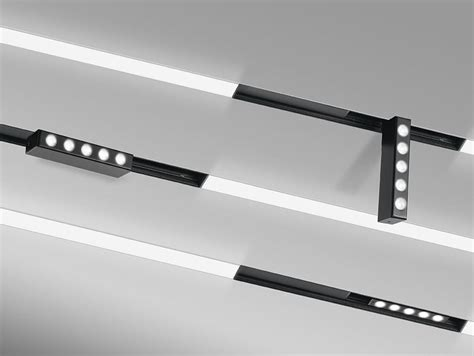 binario da soffitto lada da soffitto a led a binario spot panzeri