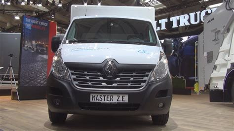 2019 Renault Master by Renault Master Z E Lorry Truck 2019 Exterior And