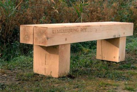 oak memorial benches benches page
