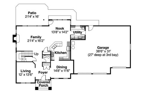 glenhurst floor plan traditional house plans glenhurst 30 372 associated
