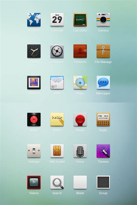 themes for android icon android theme icons by ashung on deviantart