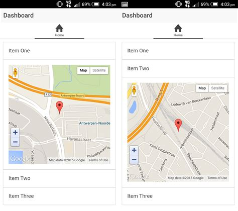 ionic tutorial google maps solved multiple google maps v3 inside ion item with ng