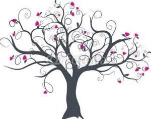 Wall Stickers Tree Branches vecteur s 233 rie dessin d arbre 224 fleurs vectoriel au