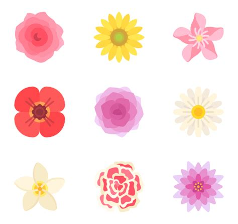 flower design emoji download the best nature themed packs from flaticon