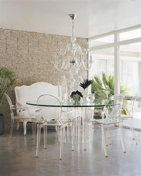 Design Acrylic Dining Chairs Ideas Design The Influence The Louis Ghost Chair La Dolce Vita