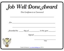 job well done certificate www pixshark com images