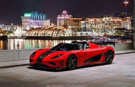 New Koenigsegg Agera Rs Delivered In Singapore For 5
