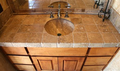 Bathroom Countertop Tile Ideas by Bathroom Backsplash Travertine Search New House