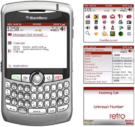 themes bb pearl retro theme for blackberry curve 8800 8700 pearls