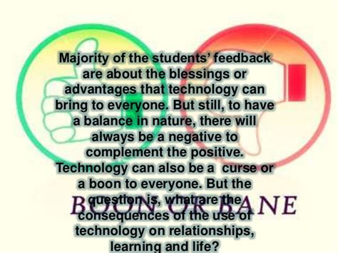 Essay Information Technology Boon Curse by Reflection Technology Boon Or Bane