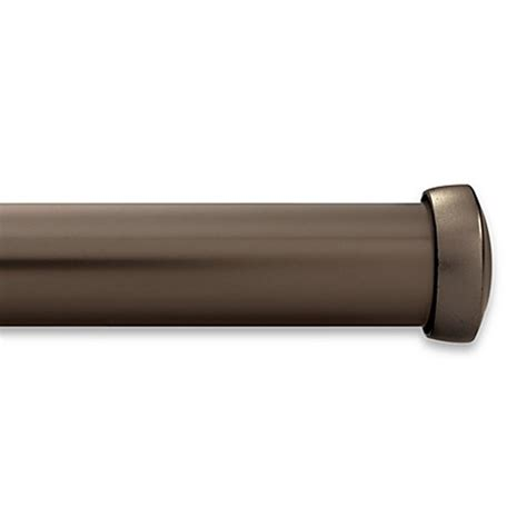 kirsch curtain rod kirsch caramel curtain rod bed bath beyond