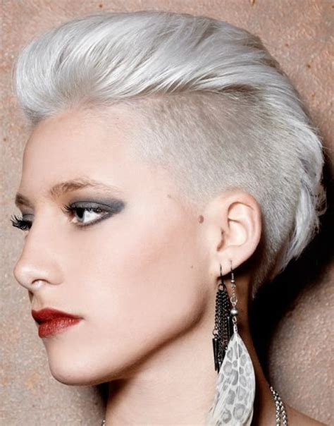 domme barbarette womens haircut 1000 ideas about women s shaved hairstyles on pinterest