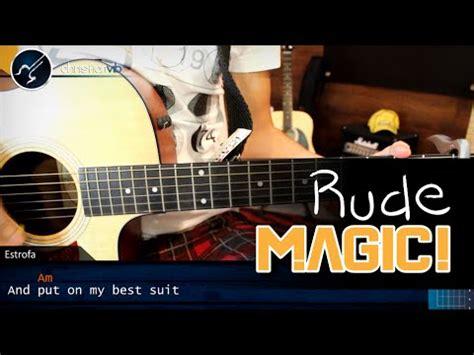 tutorial gitar rude me voy enamorando acordes de guitarra con letra como tocar