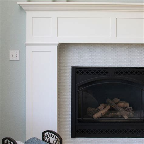 Building A Fireplace Surround And Mantel by Home Dzine Home Diy Build A Fireplace Surround With