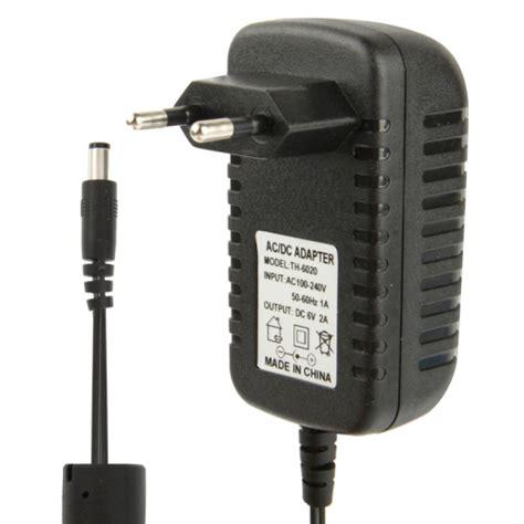 Adaptor 6v 2a By Sinarnet high quality eu ac 100 240v to dc 6v 2a power adapter