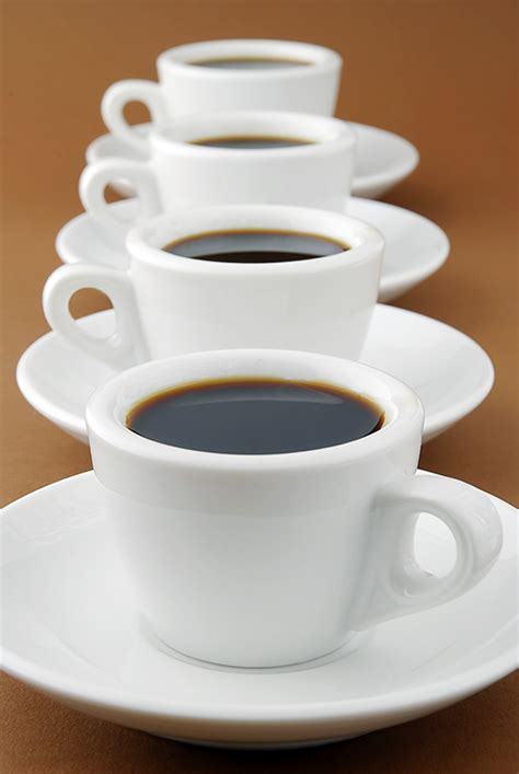 Coffee Cups by Row Of Espresso Coffee Cups Download Free Stock Photos