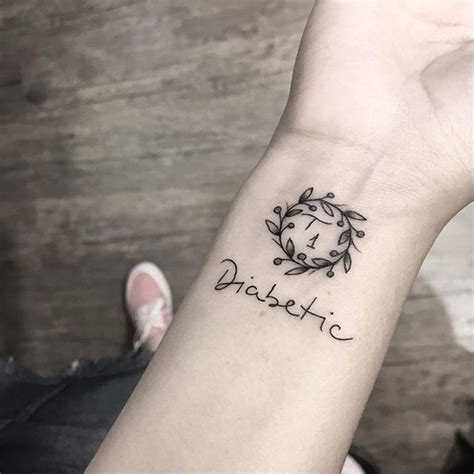 type 1 diabetes tattoos on wrist best 25 diabetes ideas on diabetes