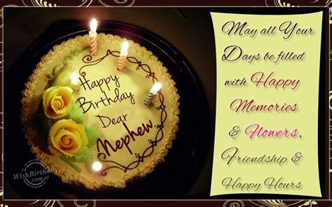 Happy Birthday Wishes Nephew Wishing Happy Birthday To A Sweet Nephew Wishbirthday Com