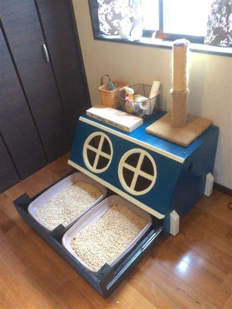 cat parent builds child resistant kitty litter box