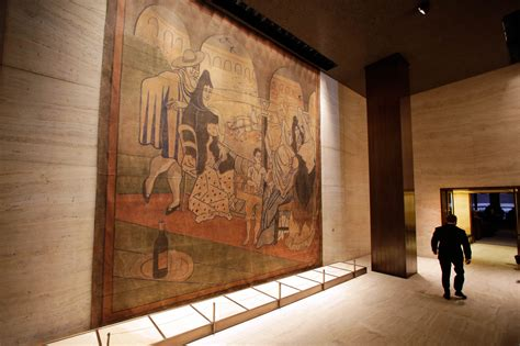 picasso curtain four seasons picasso s le tricorne bids farewell to four seasons in