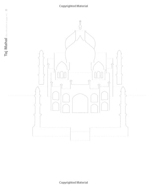 Taj Mahal Pop Up Card Template by 1000 Images About Kirigami On