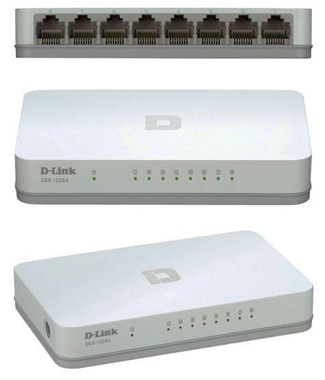 D Link Des 1008a Switch 8 Port 10100 Kbps d link des 1008a 8 port 10 100 mbps desktop switch white