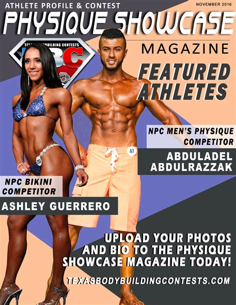 Sponsorship Letter Bodybuilding National Physique Committee