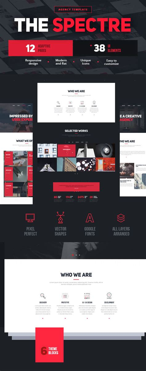 best templates for photoshop the best photoshop psd website templates of 2016