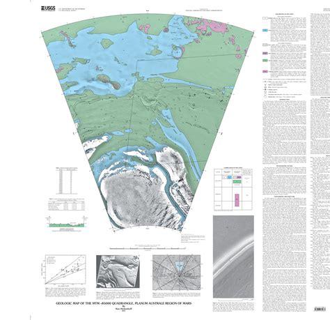 Pdf History Of The Usgs by Mars Geologic Map Of The Mtm 85000 Quadrangle Planum