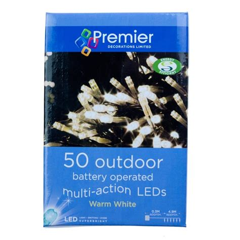 premier 4 9m length of 50 outdoor battery operated