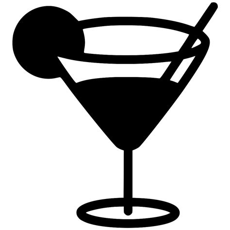 martini svg martini glass svg png icon free 443373