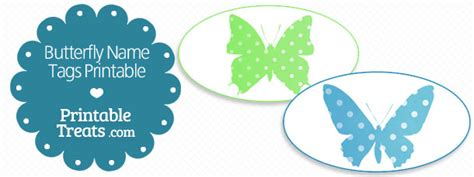 printable butterfly name tags butterfly name tags printable printable treats com