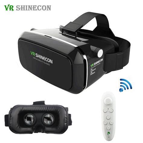 Vr Box Shinecon original vr shinecon pro smartphone reality 3d glasses 360 googles cardboard headset vr