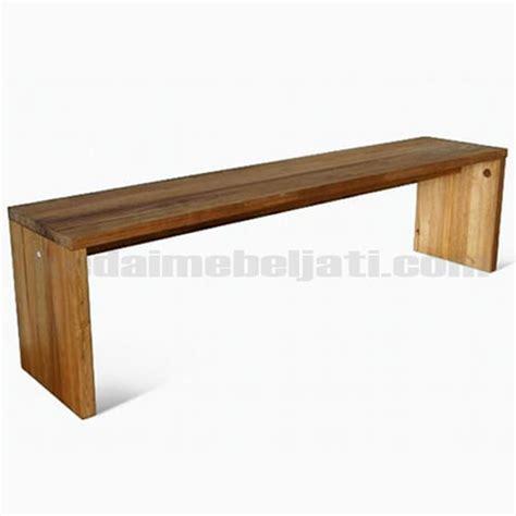 Bangku Laci Pandan Jati Tempat Duduk Mebel Jepara Furniture beli bangku jati model minimalis kdb 003 harga murah